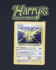⭐ Zapdos - 16/102 - Rare Holo - Pokemon Card - Unlimited Base Set - EX-NM ⭐