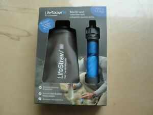 LifeStraw - Multi-use water filter with collapsible squeeze bottle - NEW
