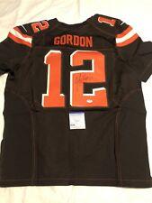 Josh Gordon Signed Cleveland Browns On Field Jersey Seattle Seahawks Psa/Dna