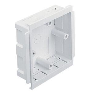 ESSB1WH 1G Accessory Box 30mm White