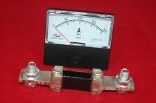 DC 200A  Analog Ammeter Panel AMP Current Meter DC 0-200A 60*70MM with Shunt