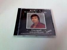 """KIKI DE CASTILBLANCO """"GERGAL"""" CD 8 TRACKS COMO NUEVO JOSE MANUEL ROLDAN"""
