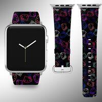 Hello Kitty Apple Watch Band 38 40 42 44 mm Series 5 1 2 3 4 Wrist Strap 01