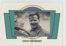 1991 Panini Voitures Antiques Edition de Collection 100 #6 Louis Chevrolet 0b6