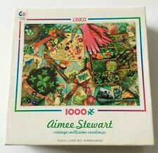 """Aimee Stewart 1000 Piece Jigsaw Puzzle """"Vintage"""" By Ceaco"""