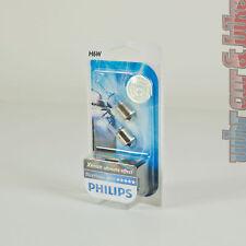 2 pezzi h6w 12v PHILIPS WHITE VISION ULTRA ALOGENA LUCE DI POSIZIONE BIANCO XENON EFFECT