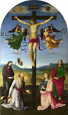 Framed Raphael Print - Mond Crucifixion (Picture Painter Italian Renaissance Art