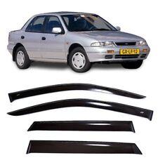 For Kia Sephia I Sd 1992-1998 Window Side Visors Sun Rain Guard Vent Deflectors (Fits: Kia Sephia)