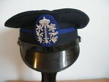 Vintage Belgium Police Gemeentelijke Arzoni Visor Cap Hat & Badge - (M49)