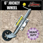 "6"" JOCKEY WHEEL. SWING UP. SOLID WHEEL. CARAVAN, BOAT TRAILER. FULLY GREASABLE!"