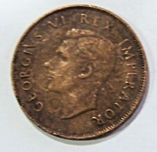 1942 South Africa suid afrika KING GEORGE VI (1937-1947) COPPER PENNY 1D coin