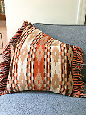 Set of 2 Southwestern Throw Pillows- Vintage Matching Pair Aztec/Native American
