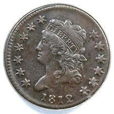 1812 S-290 Anacs Vf 30 Details Sm Date Classic Head Large Cent Coin 1c