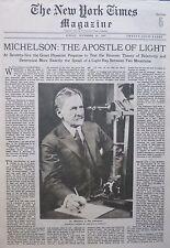 MICHELSON ANTON SCHUTZ 5TH AVE AURORA DOLLAR - TREASURY KEMAL November 20 1927