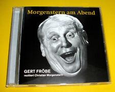 "CD "" GERT FRÖBE - MORGENSTERN AM ABEND "" FRÖBE REZITIERT CHRISTIAN MORGENSTERN"