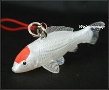 The OSAKA KOI FARM Mini Figure Collection New Japanese Koi Fish TANCHO Keychain