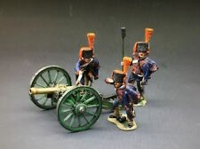 King & Country NA064 Napoleonic Wars French Guard Artillery Gun Cannon & 3 Crew