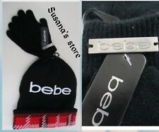 NEW bebe Beanie and gloves Set. Cozy up in style!! the perfect accessory!!