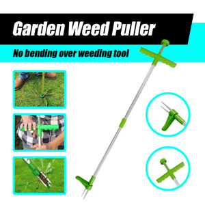 Weed Puller Weeder Twister Twist Pull Garden Lawn Root Killer Remover Tool AU