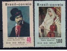 Brazilie mi 1285-1286  (1971) plakker - mh - x