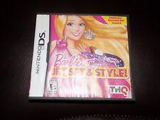 Barbie: Jet, Set & Style (Nintendo DS, 2011) EUC