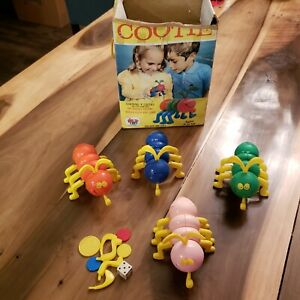 Vintage 1972 Cooties Game by Schaper near complete with box