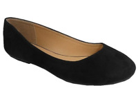 Jynx Women's Wide Width Slip On Flats Black