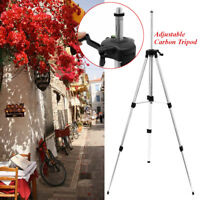 360° Universal 1.45M Adjustable Alloy Tripod Stand Extension For Laser Air Level