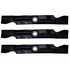 "Set of 3 Blades Cub Cadet 50"" RZT Deck Zero-Turn Mower MTD Troy Bilt 942-04053"