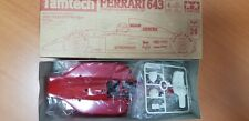 VINTAGE TAMIYA FERRARI 643  1/14TH TAMTECH SCALE BODY SET NIB NIP  #40021!