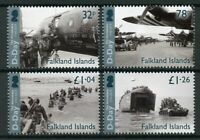 Falkland Islands 2019 MNH WWII WW2 D-Day 75th Anniv 4v Set Military War Stamps
