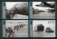 Falkland Islands 2019 MNH WWII WW2 D-Day 75th Anniv 4v Set Military War Stamps