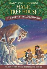 #7 Sunset of the Sabertooth MAGIC TREE HOUSE New PAPERBACK Book OSBORNE Tiger