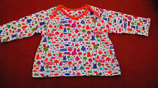 Baby Girl's Multi coloured animal print L-sleeved Top - 3-6months by M&S