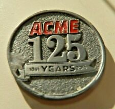 Real Nice Pewter Token /  Coin ACME 124 Years (2016)