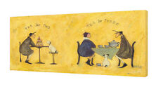 Sam Toft - Tea for Two Tea for Three - 50 x 100cm Canvas Print Wall Art WDC93184