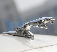Zinc Alloy 3D Car Badge Jaguar Hood Badge Leaping Head Emblem for XJR XJ6 XF X S
