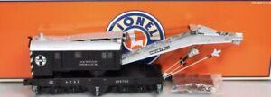 LIONEL 6-26769 SANTA FE TMCC COMMAND CRANE CAR O SCALE TRAIN NEWTON DERRICK ATSF
