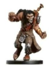 D+D miniatures 1x x1 Longtooth Barbarian Aberrations NM with Card