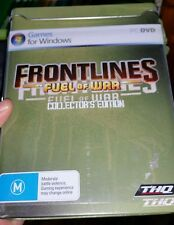 Frontlines Fuel Of War Collector's Edition With Metal Ammo Case - PC GAME - FP *