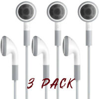3 Pack Earphones/Headphones for iPod nano, classic all Gen (Brand new)