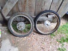 Paire de roues jantes Peugeot sx5 mobylette 5621