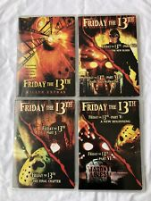 Friday The 13Th Ultimate Edition 4 Dvd Collection