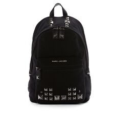 Marc Jacobs Chipped Stud Canvas Backpack Black New witht tag