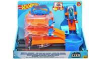Mattel - Hot Wheels City - Super Spin Dealership Playset - Brand New