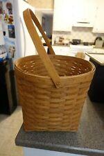 Longaberger 1990 Basket with Handle Good Shape!