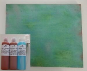 Reactive Copper Paint, Patina effect Paint for arts, crafts and decoration