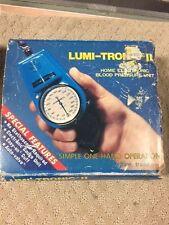 Lumi-Tronic II Blood Pressure Test Kit  DIY  One Hand Use pump travel -P14B