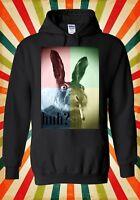 Smoking Weed Rabbit High Funny Cool Men Women Unisex Top Hoodie Sweatshirt 835