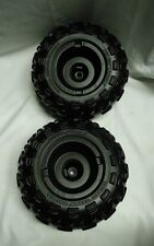 Power Wheels J8472-2269 J8472-2339 Kawasaki KFX 1 Right & 1 Left Wheel 2 pieces